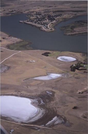 Soil salinisation lakes need water for Soil salinization